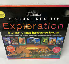 Encyclopedia Britannica Virtual Reality Exploration 6 Book Interactive Library