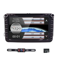 "VW Polo Golf Transporter Tiguan Caddy Passat 8"" GPS Sat NAV DVD Radio Bluetooth"