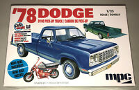 MPC 1978 Dodge D100 Custom Pickup Truck 1:25 scale model kit new 901