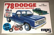 MPC 1978 Dodge D100 Custom Pickup Truck 1:25 scale model kit new 901