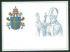 Vatican City 1981 Mint Set of 2 Postcards John Paul II Blessings