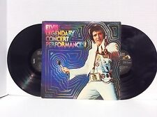 ELVIS PRESLEY: Elvis Legendary Concert Performances! 2 vinyl LP archive MINT