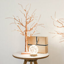 2ft Battery Indoor LED Light Up Copper Christmas Twig Tree | Table Decoration
