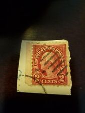 Very Rare George Washington Red 2 Cent Stamp - Excellent Condition