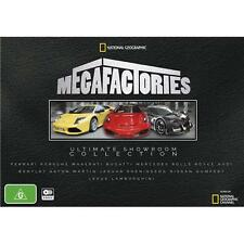 NG Megafactories Ultimate Showroom Collection Prestige Cars dvd Box Set Region 4