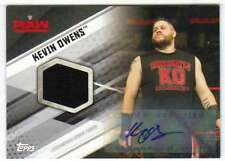 2017 Topps WWE Wrestling Shirt Relic Autograph Relic AUTO /10 KO Kevin Owens