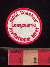 Vtg MCSL Coaches Invitational Meet LongCourse Swim Patch 79WI