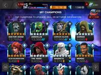 marvel contest of champions account Platinum POOL , 6* DOOM, DOMINO, AND CORVUS