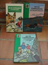 3 livres Six compagnons bouteille à la mer village englouti carré magique Bonzon