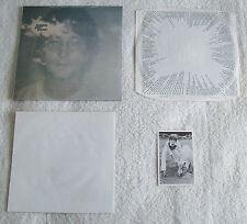 JOHN LENNON *IMAGINE* LP 1971 EARLIEST UK 1ST PRESS COMPLETE! UNSPLIT INNER!