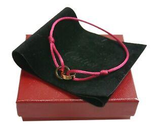 Authentic Cartier Bracelet code love 4P  Rose Gold #2811