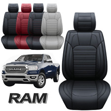 Pu Leather Car Seat Covers Set For Dodge Ram 1500 2009 2021 2500 3500 2021 2010