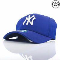 f09ac1ed336 New Era 9FORTY  Lightweight  New York Yankees Blue Curved Peak Adjustable  Cap