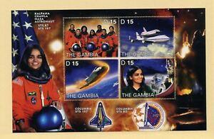 GAMBIA   MNH    2727   Kalpana Chawla Astronaut  Space Shuttle   BE486