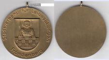 Fröndenberg/Ruhr ventre esercizi AE Medal circa 50 mm ca. 39,36 G (10.099)