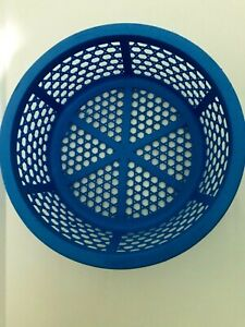 Plastic Round Storage Basket Gift Vegetable Fruit Display Home Kitchen Container
