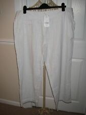 Linen High Rise Plus Size Trousers NEXT for Women
