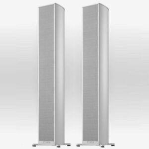 Piega Premium 501 Wireless Floor Standing Speakers Aluminium- Pair 1861