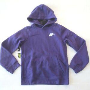 Nike Boys Pullover Hoodie Sweatshirt - BV3757 - Purple - Size L - NWT