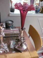 More details for epergne centre piece. silver plate