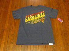 Men's NWT NBA Cleveland Cavaliers Big Logo Grey T-Shirt sz M