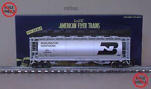 American Flyer (High Rail) 6-48640 Burlington Northern Cylindrical Hopper Car