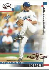 2003 Leaf Press Proof Red Eric Gagne 180 Dodgers