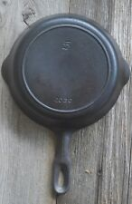 GRISWOLD IRON MOUNTAIN Skillet 5 1030  Cast Iron Fire Ring Restored