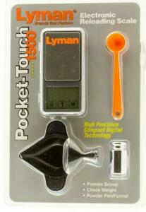 LYMAN Electronic Reloading Scale1500 Pocket-Touch 7750725 FAST SAME DAY SHIP