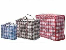 REUSABLE LAUNDRY STORAGE SHOPPING BAGS BAG ZIPPED STRONG SMALL MEDIUM LARGE XL