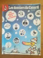 Les dossiers du canard n°14 janvier 1985 Les dessins de la mi-chemin Escaro Cabu