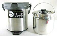 Buffalo Thermal Vacuum Cooking Carry Stainless Steel Pot 2L Non-Elect Non-Gassed