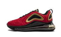 Women's Nike Air Max 720 UNIVERSITY RED BLACK GOLD CU4871-600 Running Training