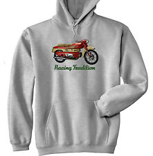 AERMACCHI 250 CHIMERA - GREY HOODIE - ALL SIZES IN STOCK
