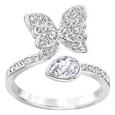Anello DONNA Swarovski Eden  zirconi 5190283 mis 15 55 ring farfalla butterfly