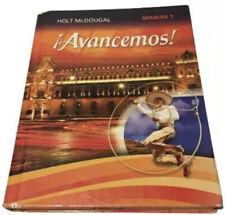 Spanish Textbook Avancemos 1 Hardcover  2013 Holt McDougal