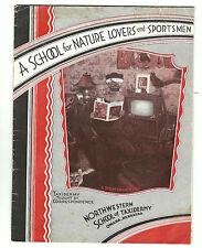 Old Promotional Catalog Northwestern School Taxidermy Omaha Nebraska Sportsmen