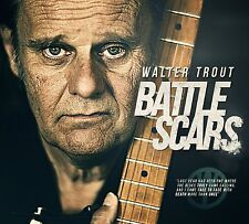 WALTER TROUT BATTLE SCARS CD ALBUM (Released October 23 2015)