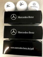 9x Original Mercedes-Benz  weiße Golfbälle NEU unbenutzt Mizuno
