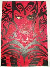 Paper Painting Star Wars Darth Talon Serious Red Art 16x12 inch Acrylic