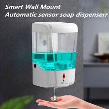 Automatic Liquid Soap Dispenser 700ML Handfree Touchless IR Sensor Wall Mount U