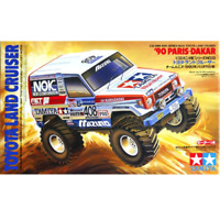 Tamiya 19013 Mini 4WD Series Toyota Land Cruiser '90 Paris-Dak 1/32