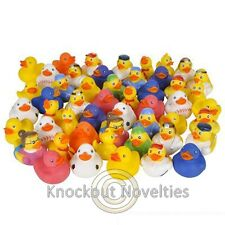50 Rubber Duck Assortment Favor Party Gift Bag Fillers Prize Ducks Ducky Collect
