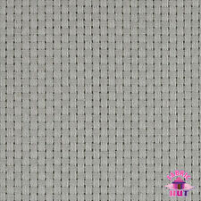 "140127061 - Monks Cloth 8 Count Gray Cotton 60"" Fabric by the Yard 4x4 Weave"