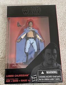 "Hasbro Star Wars The Black Series 3.75"" Lando Calrissian - New and sealed"