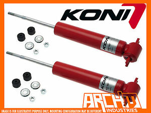 CHEVROLET CHEVY NOVA 68-79 KONI ADJUSTABLE FRONT SHOCKS ABSORBERS- MULTI-LEAF