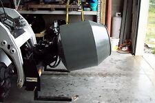 Skid Steer Concrete Mixer, Hydraulic Drive, Mix-Transport-Dump 5 Cu Ft, Fits All