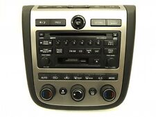 NISSAN Murano Radio Stereo 6 Disc Changer CD Player RDS A/C Heat Climate Panel