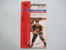 1986/87 PRO-SPORT VANCOUVER CANUCKS NHL HOCKEY PHOTO 9 TONY TANTI FACSIMILE AUTO