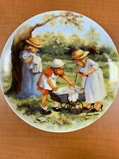 """Office Hours"" Collector Plate by Jeanne Down with Certificate of Authenticity"